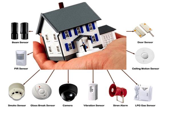 Hệ thống an ninh thông minh trong nhà phù hợp mọi gia đình