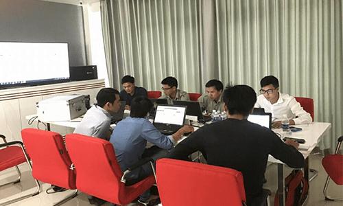 Văn phòng training kỹ thuật của Tis Smarthome