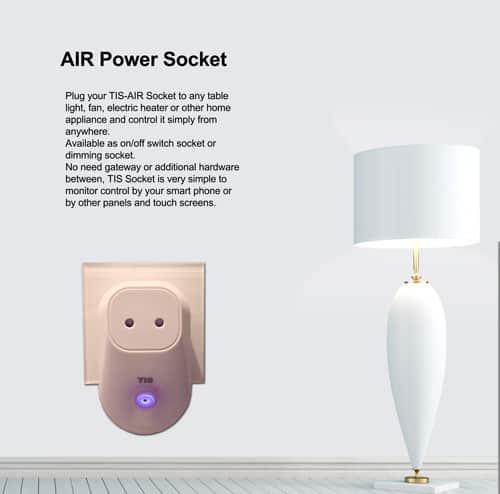 Ổ cắm thông minh không dây TIS AIR