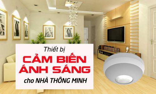 Cảm biến ánh sáng cho nhà thông minh
