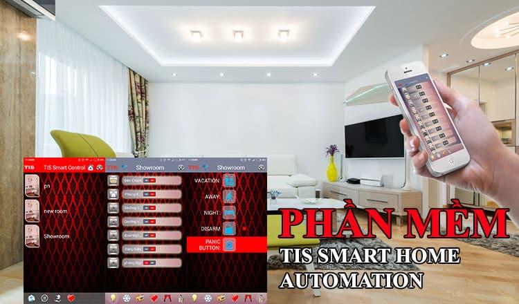 phần mềm điều khiển công tắc smart home