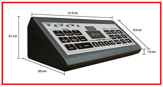 bảng điều khiển trung tâm
