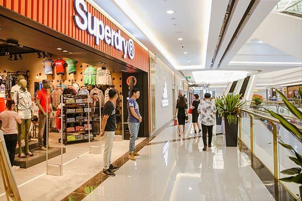 cửa hàng thời trang trong Landmark 81