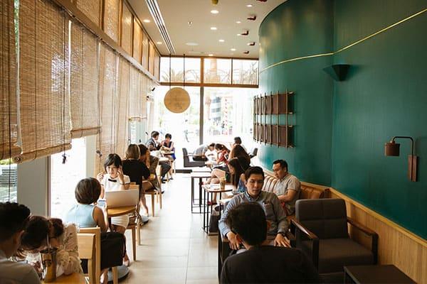 cà phê trong Landmark 81