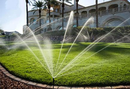 giải pháp sân vườn thông minh