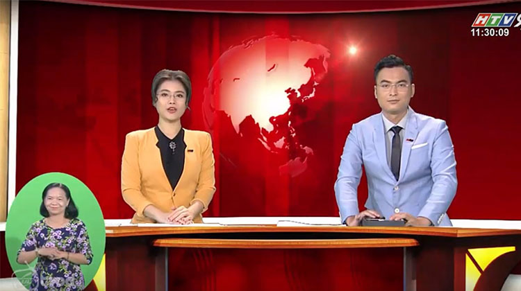 Bản tin thời sự  HTV9 nói về giải pháp nhà thông minh TIS VIỆT NAM